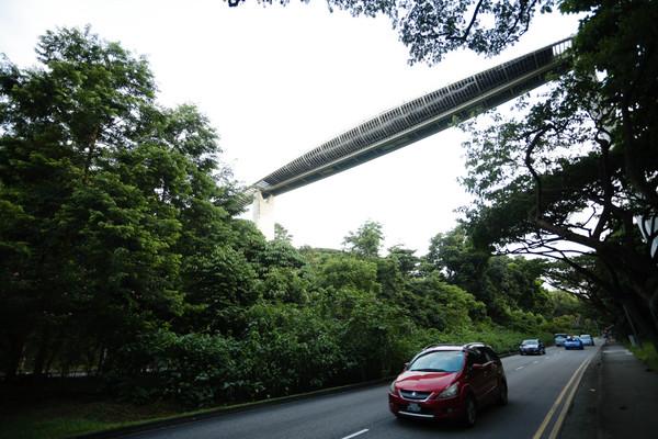 ▲新加坡旅遊-亨德森波浪橋(圖/林世文記者攝)