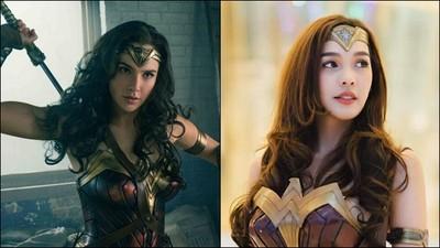 泰國正妹長腿美翻~ 穿上盔甲秒變《神力女超人》
