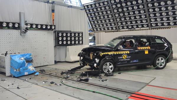 這捷克棕熊很耐撞!Skoda Kodiaq歐洲撞擊測試五顆星(圖/翻攝自Euro NCAP)