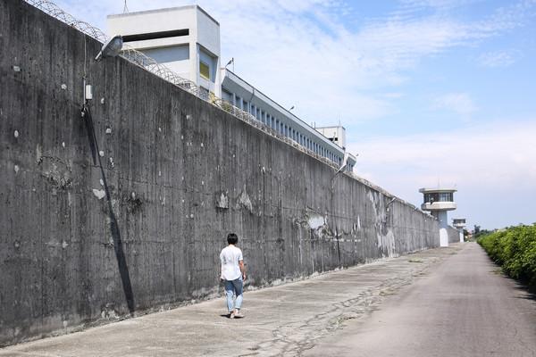 監獄,圍牆,監視高塔,逃獄,越獄,監禁(圖/周宸亘記者攝)