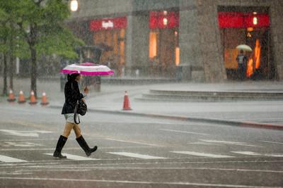 宜蘭大雨特報 清晨最低溫16.5℃