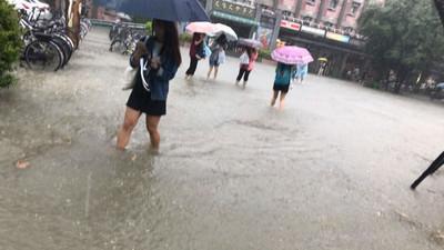 台北市好久沒淹水安啦?但一提到納莉就喚起天龍人的心魔
