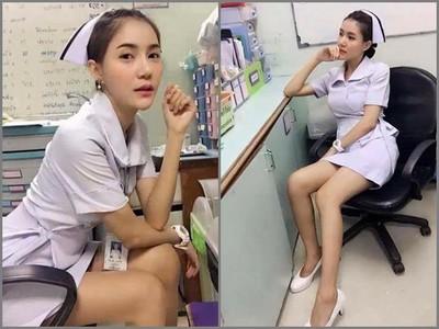 正到被炒!泰國護士窄裙自拍,什麼都沒露…院長逼她辭職