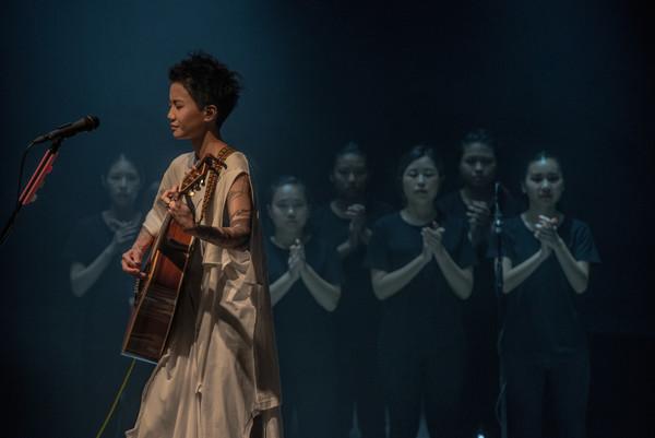 ▲盧凱彤在香港舉行演唱為。(圖/洛克妹提供)