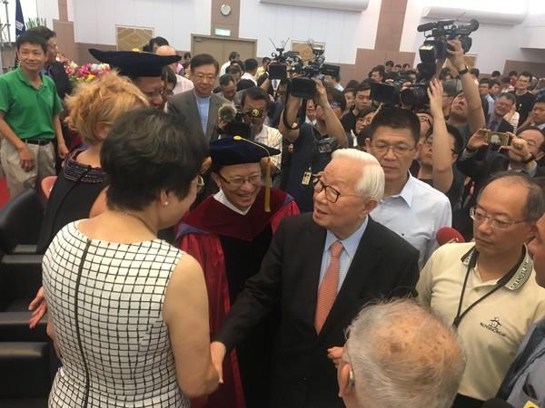 張忠謀,Morris Chang,TSMC,NIVIDIA,黃仁勳,Jenson Huang