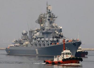俄太平洋艦隊瓦良格號結束訪日