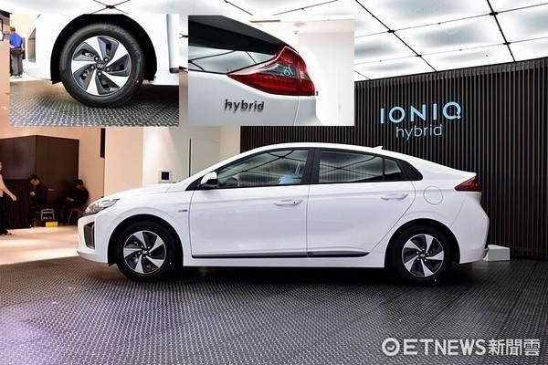 俐落的車尾造型,也讓IONIQ在既有的房車車格當中大玩歐系創意。