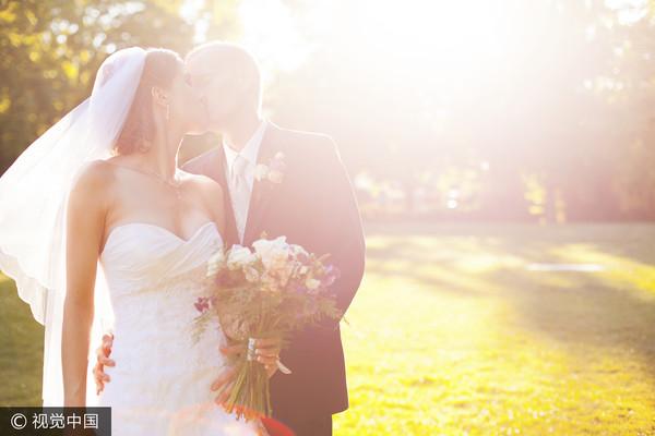 結婚、婚禮、新娘、新郎、嫁人、情侶、夫妻。(圖/CFP)