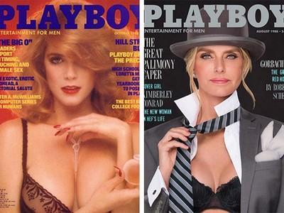 《花花公子》7位經典女郎重拍封面 30年後的容貌比當年更性感