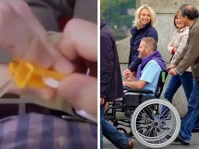 一場「安樂死」讓百萬人哭了 絕症男按下注射器後緊握妻子不放