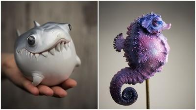 「海洋新物種」萌翻網友,被咬一口會死掉吧!」