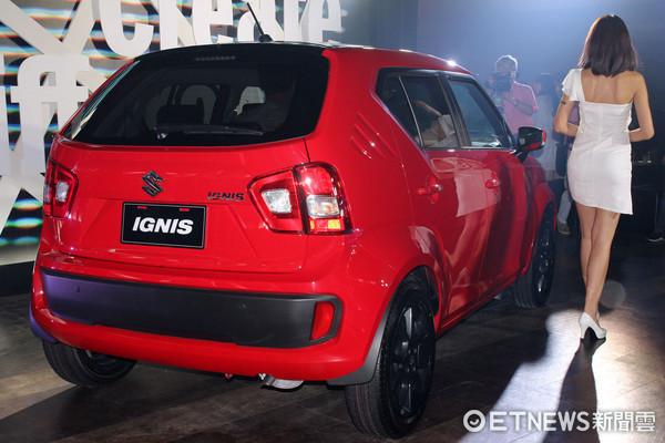 ▲時尚可愛日系小車!Suzuki IGNIS登台62.8萬買進口車。(圖/記者張慶輝攝)