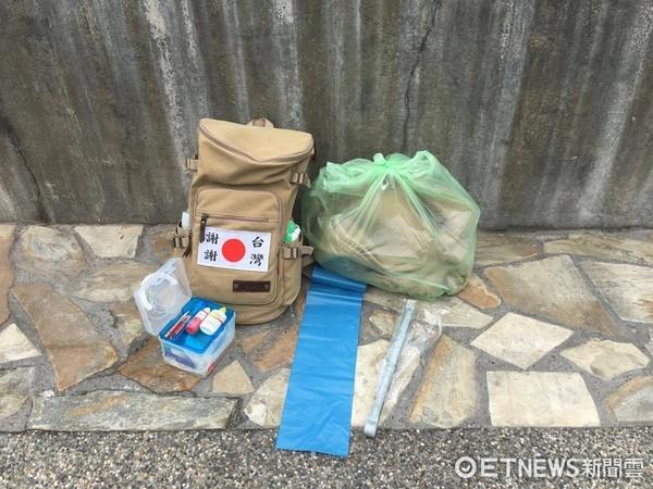 ▲日本網友中島健一目前正在台灣進行「環島淨灘」。(圖/中島健一授權提供)