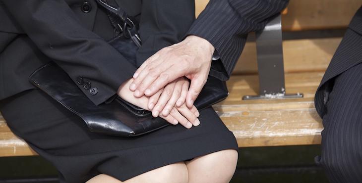 職場性騷擾示意圖。(圖/取自網路)
