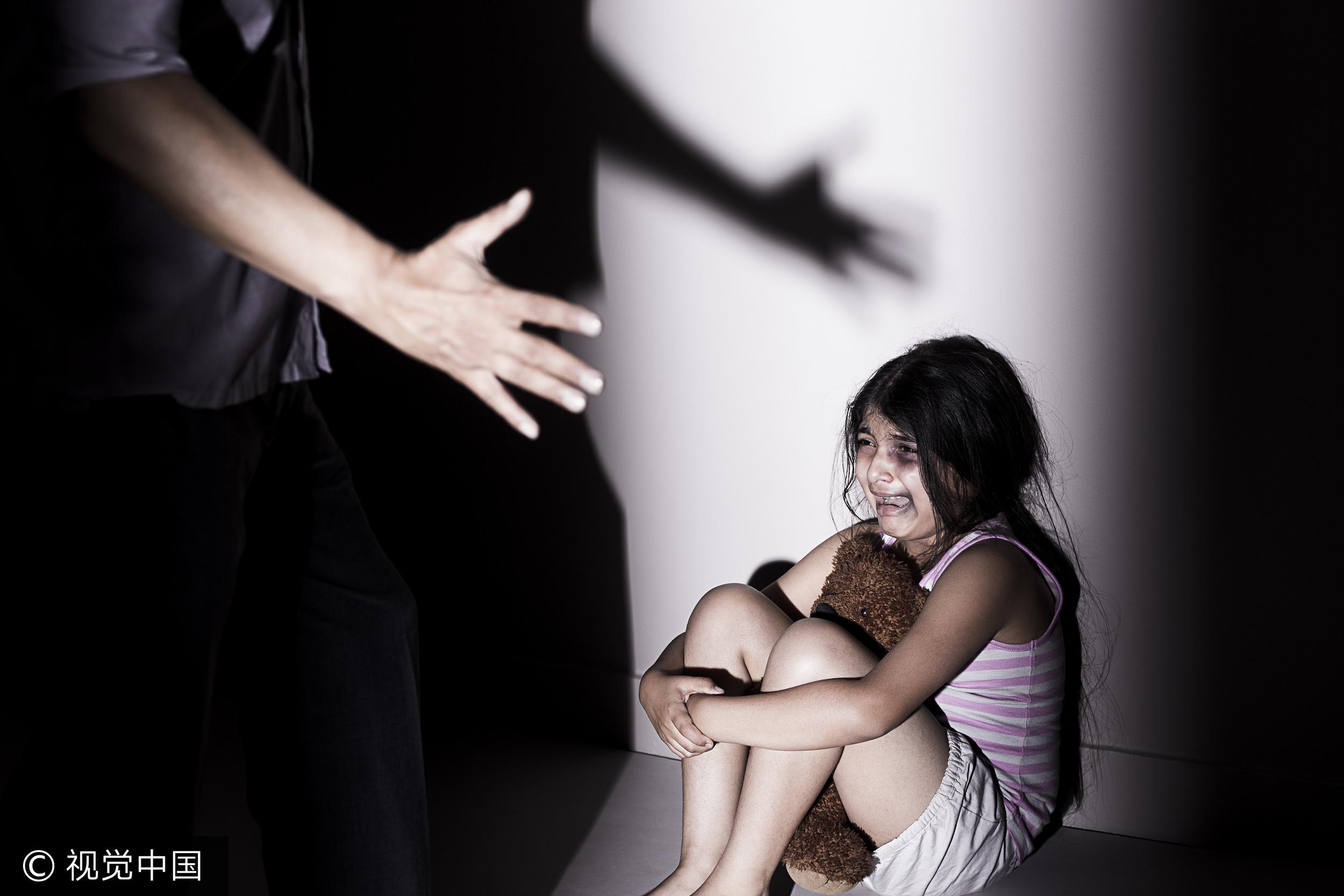 虐待,兒童,受虐,家暴(圖/視覺中國CFP)