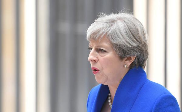 ▲英國首相梅伊(Theresa May)。(圖/路透社)