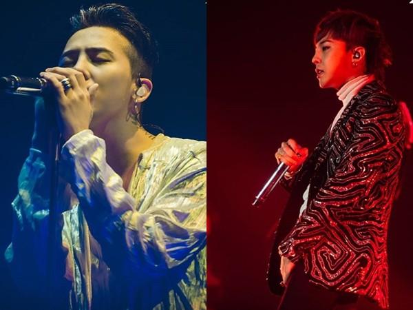 GD。(圖/翻攝自BIGBANG臉書)