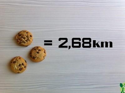 「跑步還債熱量表」史上最殘酷,跑一公里抵不上吃一片餅乾..