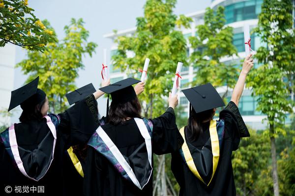 大學,畢業,新鮮人(圖/視覺中國CFP)
