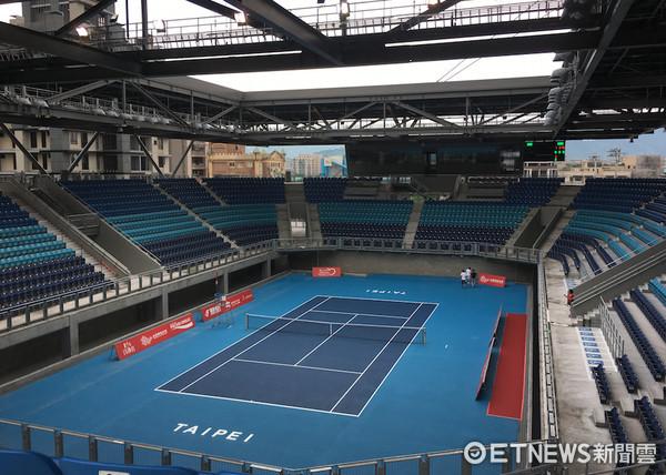 ▲台北網球中心。(圖/記者林育正攝)