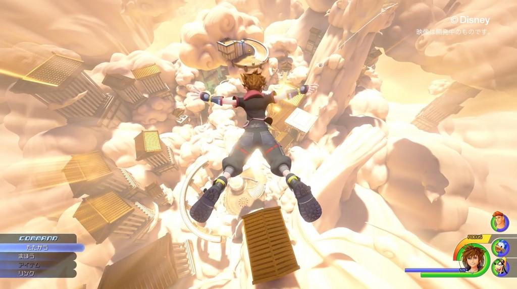 《王國之心3》宣傳片釋出!新作舞台是奧林帕斯競技場(圖/翻攝 SE 頻道)