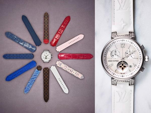 ▲LV新錶可更換錶帶(圖/品牌提供)