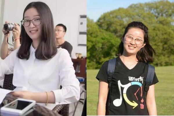 ▲▼26歲大陸女碩士生章瑩穎在美國失蹤。(圖/翻攝自微博)