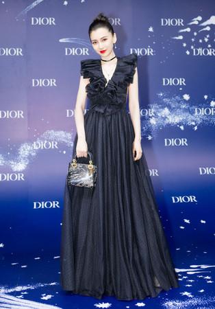 ▲Angelababy出席Dior上海活動 。(圖/翻攝微博)