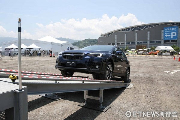這跨界SUV「跨」得有些徹底!速霸陸全新XV越野體驗(圖/記者游鎧丞攝)