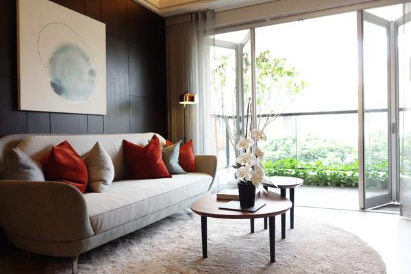▲新成屋裕盛「森邸」一期強調換氣、隔熱、節能等設計,空間採光佳、通風良好。(圖/業者提供)