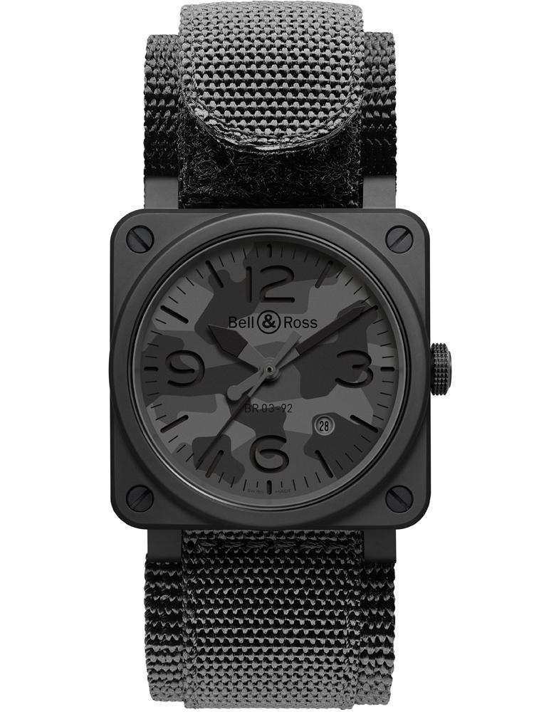 【錶評】BELL & ROSS BR03-92 Black Camo