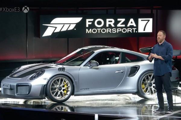 最強911選在E3電玩展現身?保時捷GT2 RS無預警亮相(圖/翻攝自Carscoops)