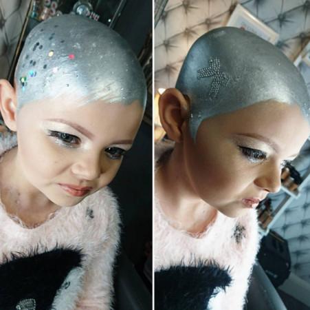 罹癌小女孩模仿卡拉(圖/翻攝自glamsquadacademy IG)