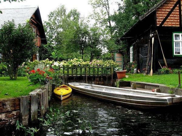 德國版威尼斯!秘境鄉村「施普雷森林」。(圖/取自Flickr)
