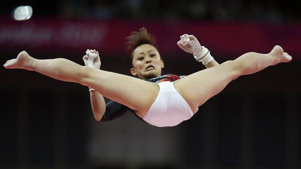 ▲▼日本前體操選手田中理惠抱怨,記者每次特別愛拍她開腿的時刻。(圖/達志影像/美聯社)