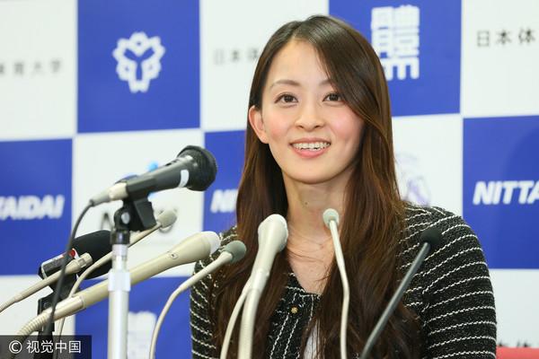▲▼有「體操濱崎步」之稱的日本前體操選手田中理惠。(圖/CFP)