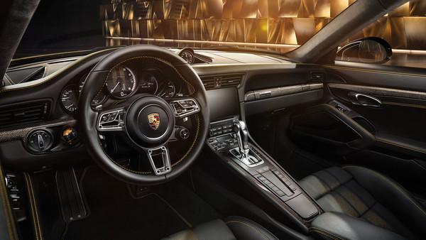 土豪金千萬蛙王登場!保時捷推911 Turbo S Exclusive Series(圖/翻攝自Porsche)