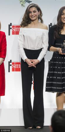 ▲西班牙王后萊蒂西婭Letizia Ortiz。(圖/CFP)