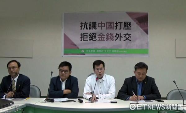 ▲外交部及綠委爆台灣外交爆危機。(圖/記者翁嫆琄攝)