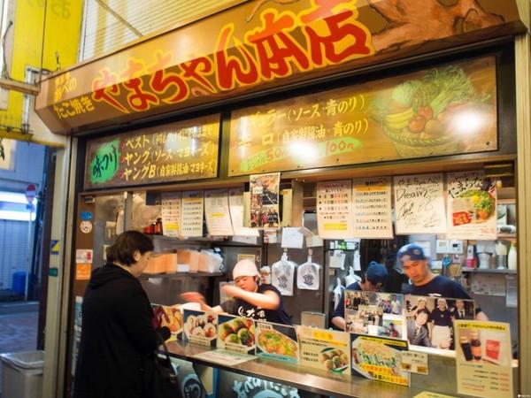 大阪やまちゃん章魚燒。(圖/matcha)