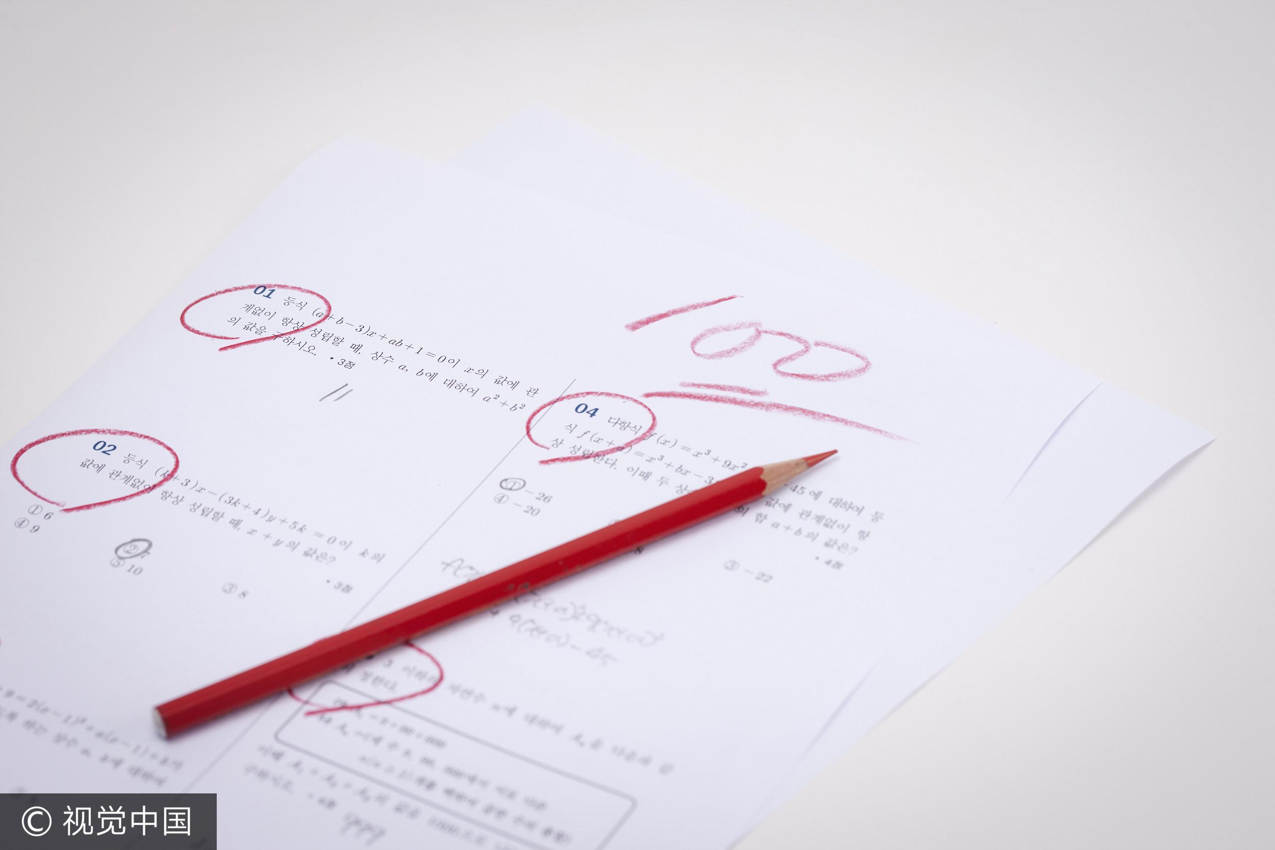 ▲聊是非用圖,打分數,成績單。(圖/CFP)。