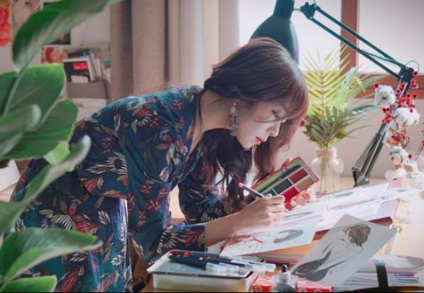 ▲南韓畫家Zipcy作品。(圖/翻攝Zipcy IG)