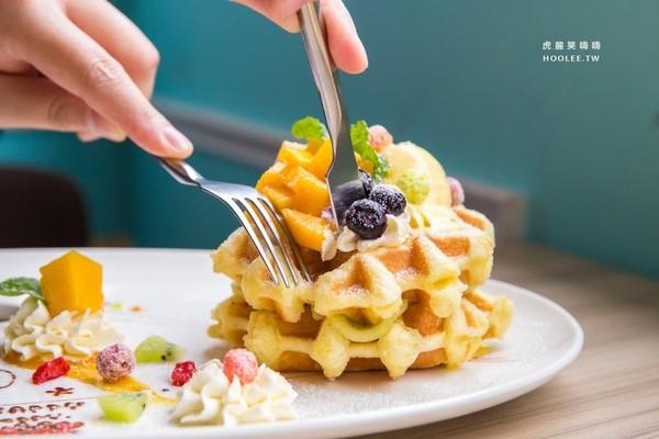 Poppy Waffle(高雄左營店)。(圖/虎麗笑嗨嗨)