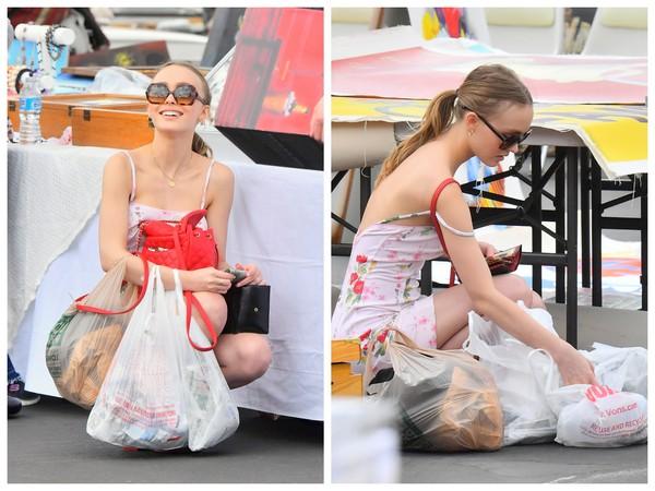 ▲Lily Rose Depp穿chanel(圖/達志影像)