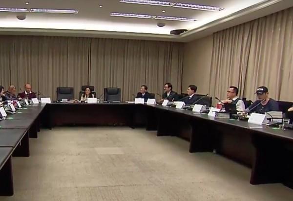 總統府司改國是會議。(圖/記者翁嫆琄攝)