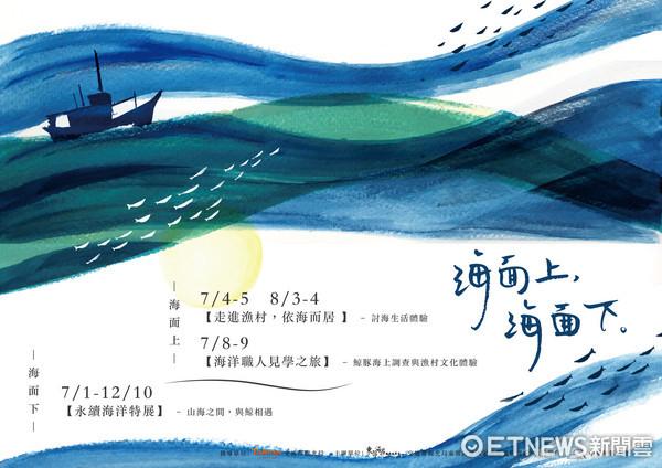 東管處今年委託中華鯨豚協會於7月至12月舉辦「海面上,海面下」系列活動,推出海洋生態特色遊程。(圖/東管處提供)