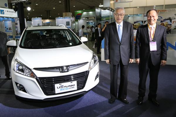 2017國際光電展 LUXGEN將台灣智慧車推向國際(圖/LUXGEN提供)