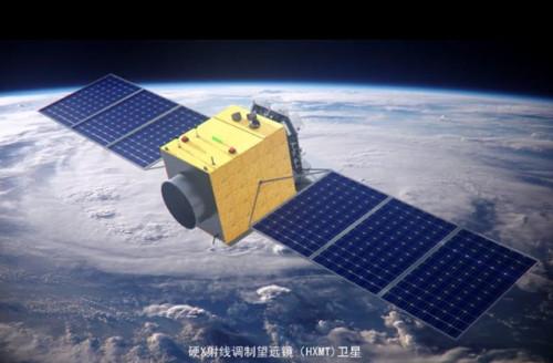 ▲中國大陸成功發射X射線調製望遠鏡衛星「慧眼」。(圖/翻攝自中國科學院)