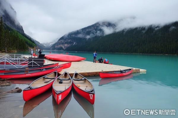 ▲加拿大露易絲湖。(圖/記者于佳云攝)