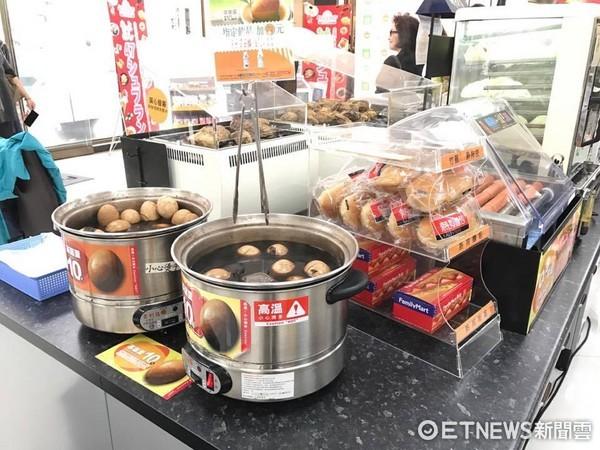 ▲▼超商,便利商店,微波食物,茶葉蛋,熱狗             。(圖/資料照)